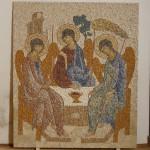 svata trojica, rublev mozaika