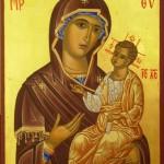 Presvätá Bohorodička, ikona, sakrálne umenie