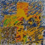 Memlingov kríž, Boteková Augustinova, Malba