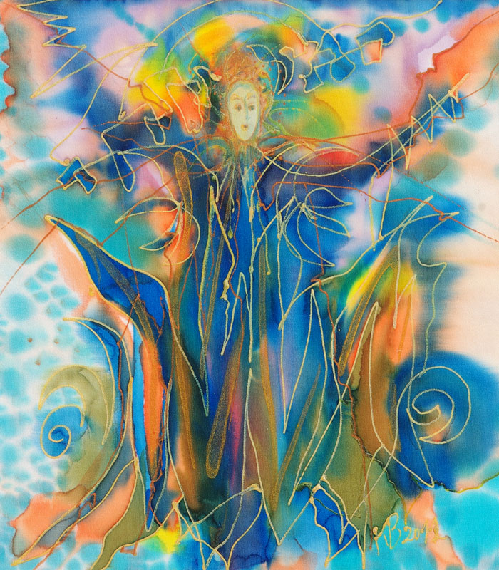 anjel, krestanske umenie