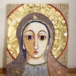 mozaika, zlato