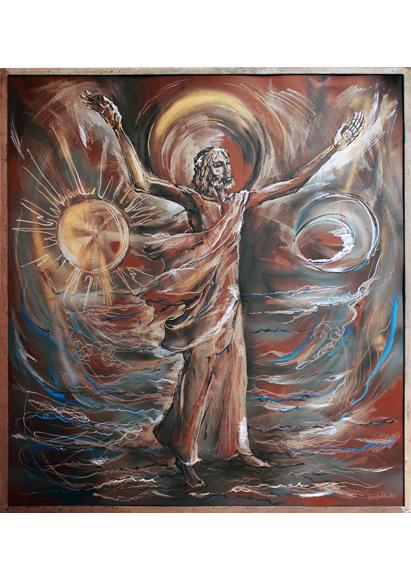 kristus vladca, Marian Kralik