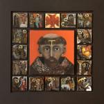 Život sv. Františka, olej, Gladisová