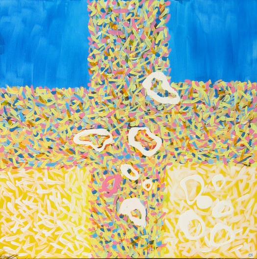 kríž, srdce, sakrálne umenie,
