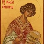 Sv. Roman Sladkopevec, sakrálne umenie