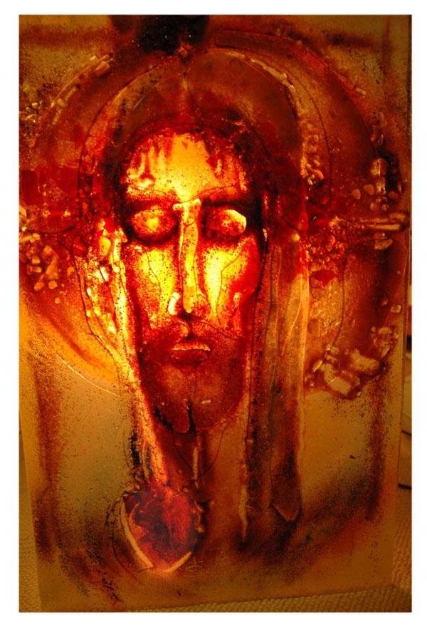 Kristova tvár, štrbova