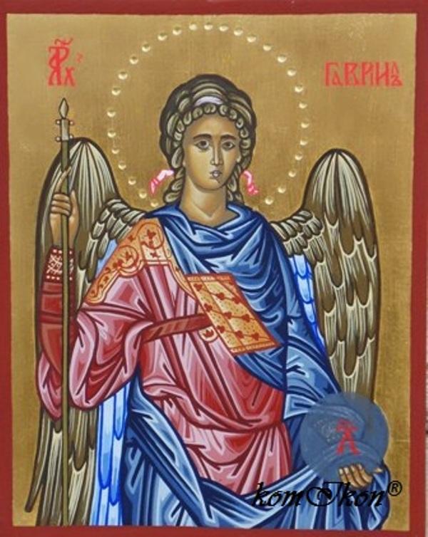 Archanjel Gabriel, ikona, kresťanské umenie