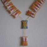 Anjelský ruženec, textil, Botekova