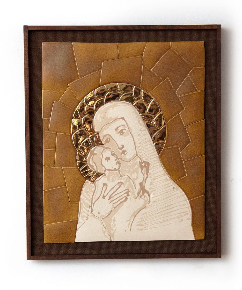 keramické mozaiky, obraz