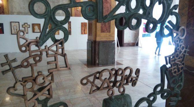 FOTO: Vernisáž výstavy Odtiene milosrdenstva
